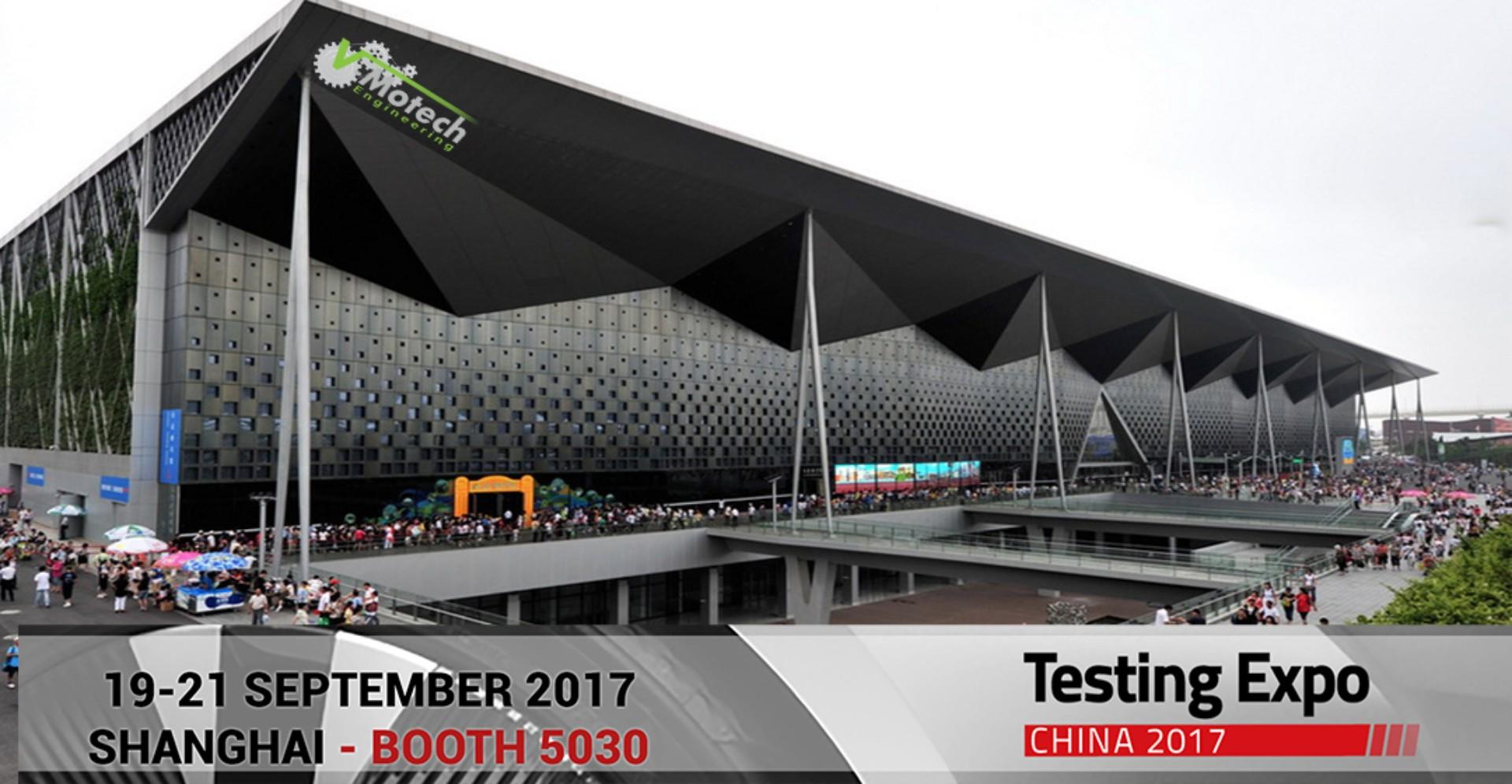 19-21 Septembre Rencontrez nous à Testing Expo Shanghai